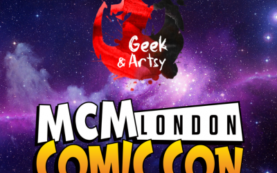 We'll be at MCM LONDON OCTOBER!
