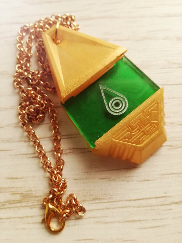 digimon tag crest neklace