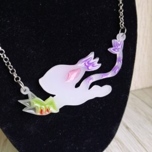 digimon tailmon necklace