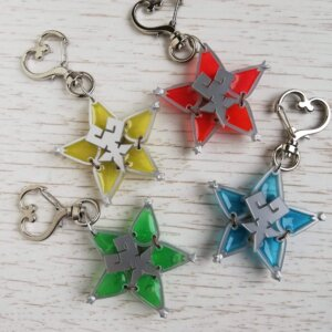 Kingdom Hearts wayfinder keychains
