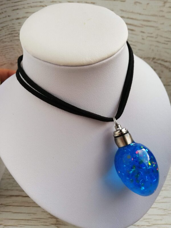 dragon prince egg necklace with light