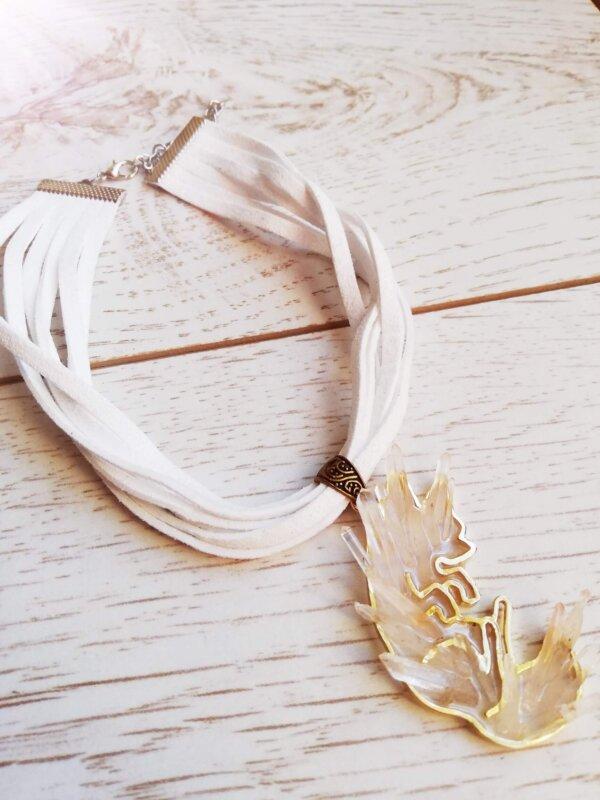 vulptex crystal fox necklace