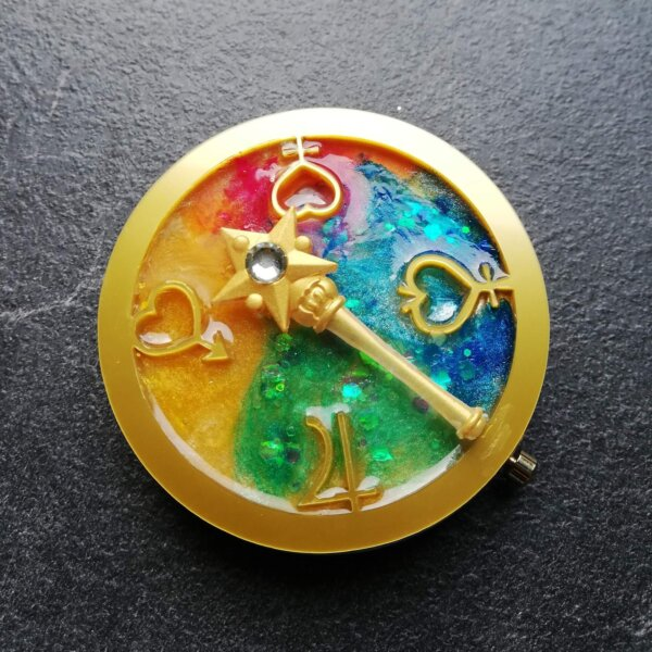sailor moon inner senshi pocket mirror