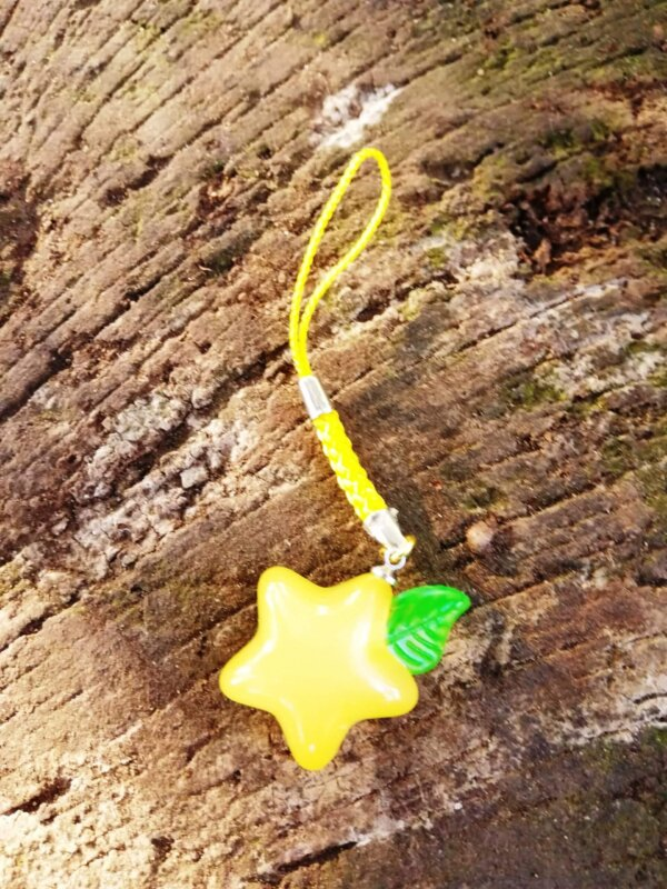 kingdom hearts Paopu fruit charm dangle