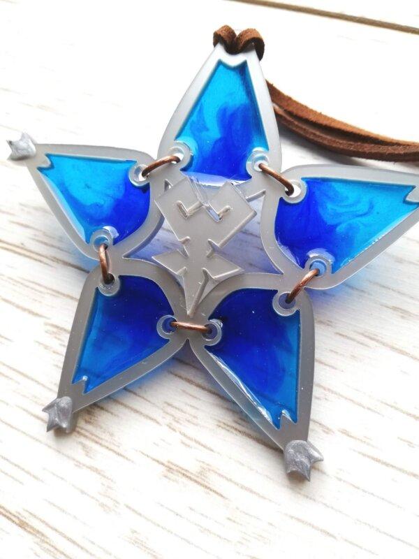 wayfinder kingdom hearts cosplay prop blue