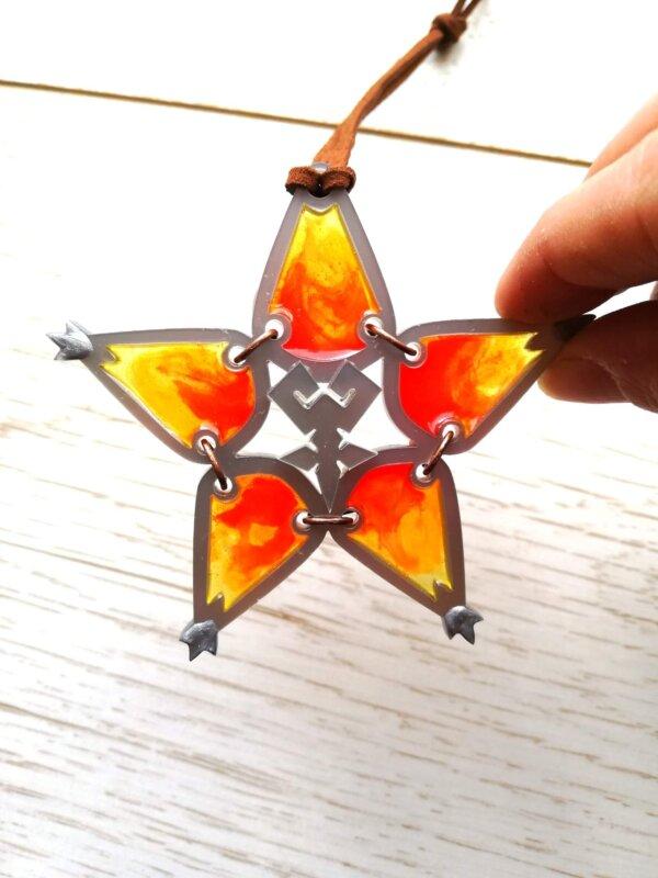 wayfinder kingdom hearts cosplay prop orange