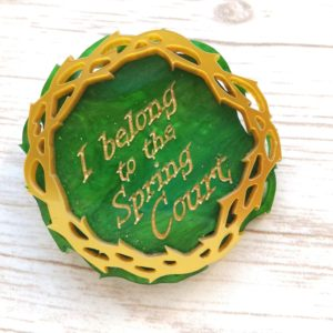 a court of thorns and roses spring court pin