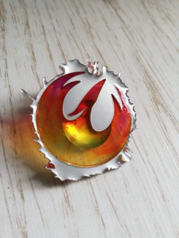 sabine wren phoenix pin badge