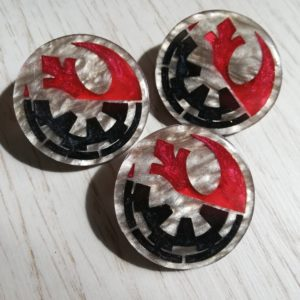 empire/rebellion pin