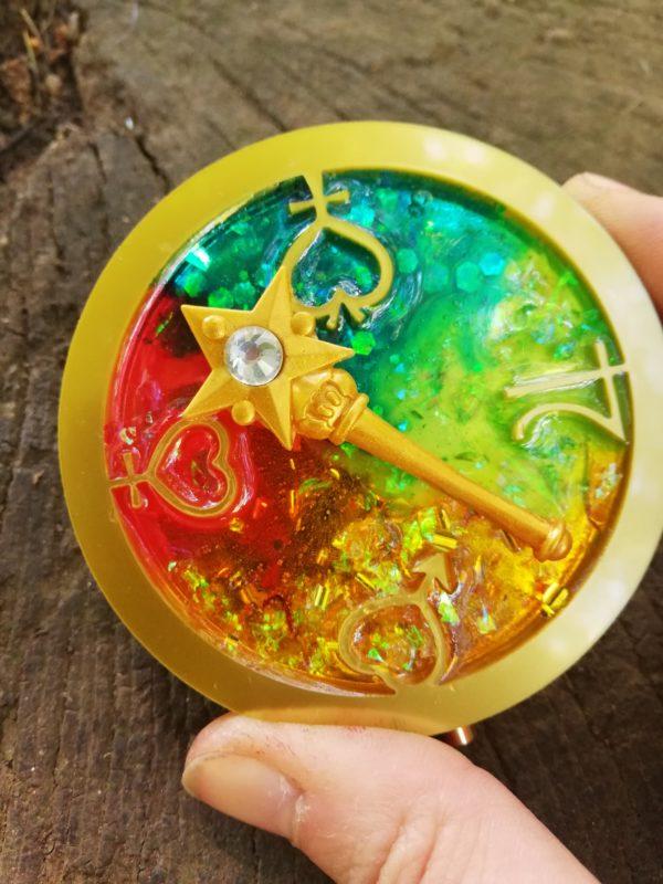 sailor moon inner senshi pocket mirror