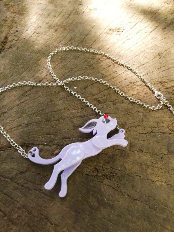 Pokemon espeon necklace