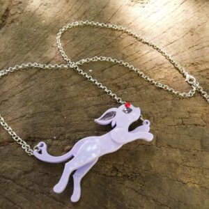 Pokemon espeon necklace