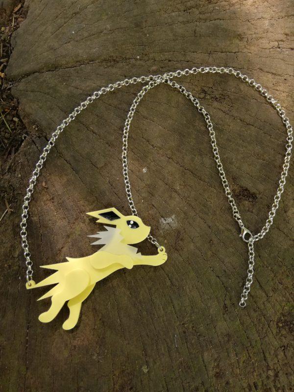 running jolteon necklace