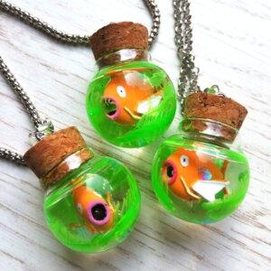 magikarp aquarium necklace