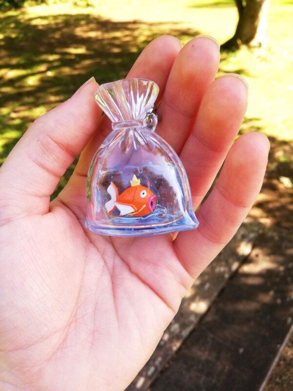 Pokemon carnival magikarp keychain