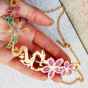 mulan mushu necklace