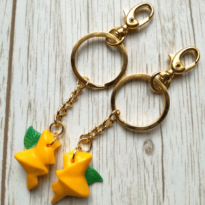 paopu fruit keychain kingdom hearts