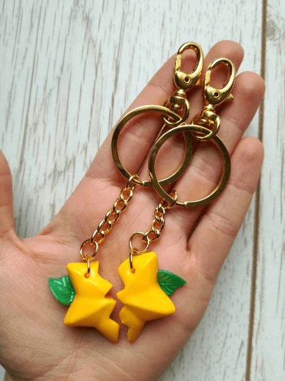 paopu fruit keychain kingdom hearts on hand