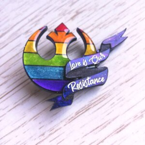 star wars pride pin