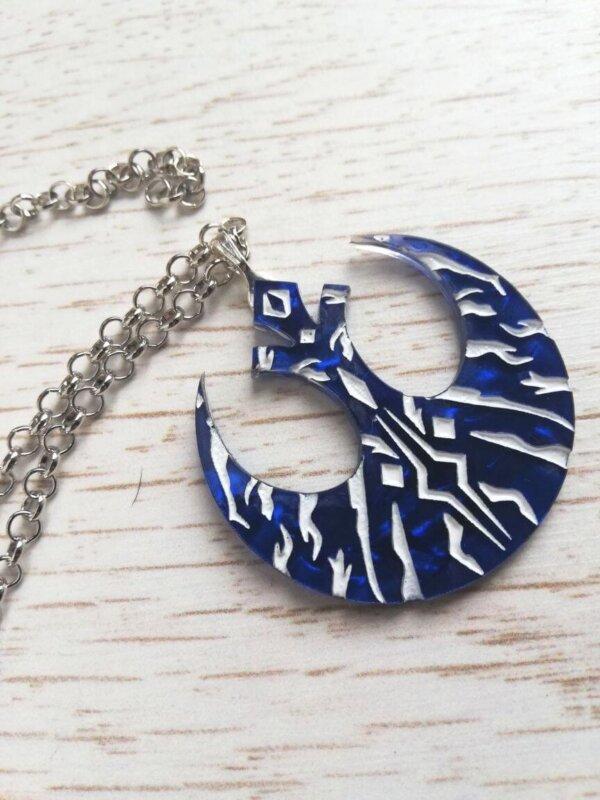 ahsoka tano rebel necklace