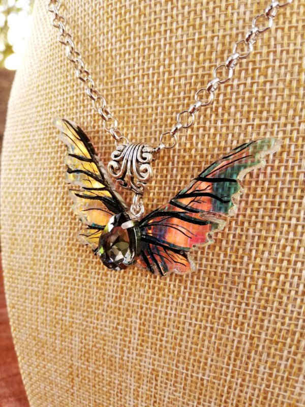 gelfling wings necklace