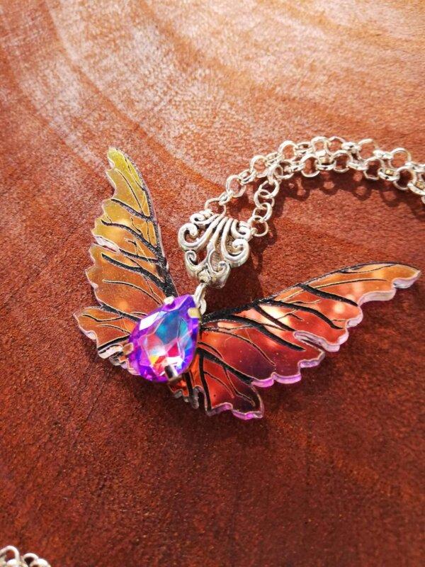 dark crystal gelfling wings necklace