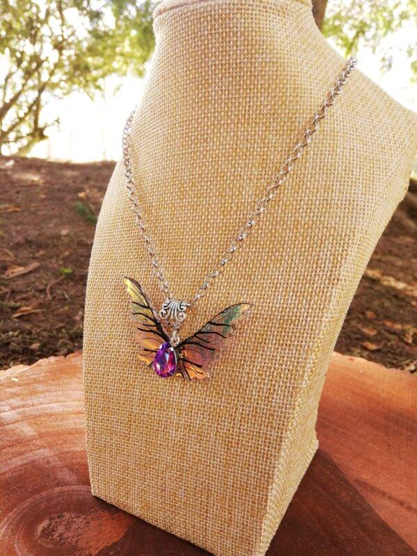miniature gelfling wings pendant