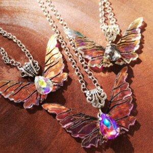 gelfling wings necklace
