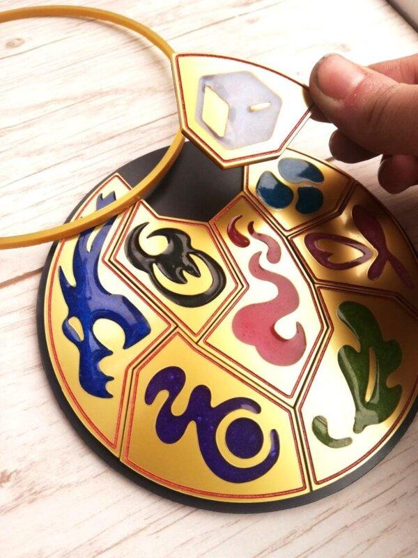 Pokemon Galar Region badges- Medal display box