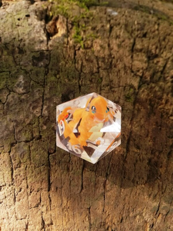 charmander d20 pokemon dice