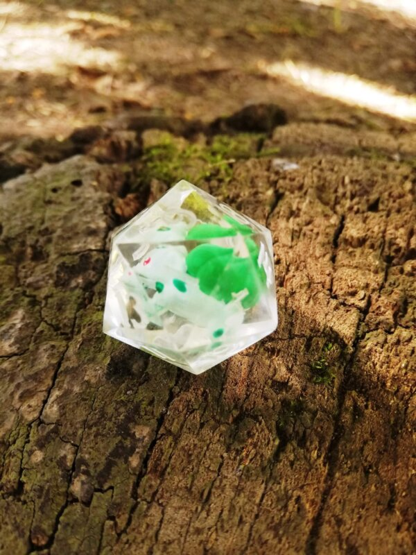 Bulbasaur D20 pokemon dice