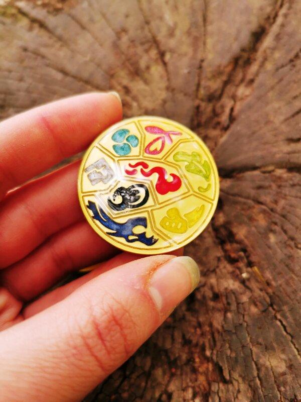 Pokemon Sword And Shield Pin