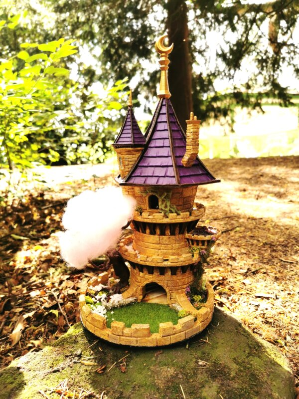 Wizard Dice Tower - Spring