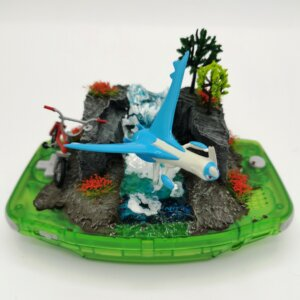 latios pokemon gameboy diorama