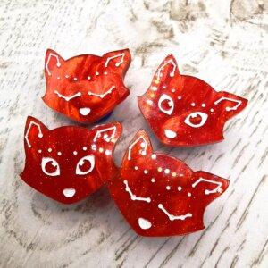 Constellation fox mini pin