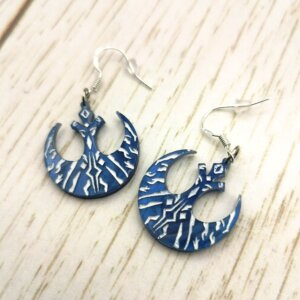 ahsoka tano star wars earrings