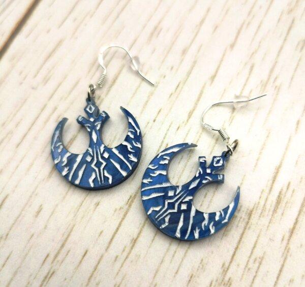 ahsoka tano star wars earrings