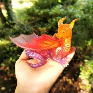 sunset dragon guardian