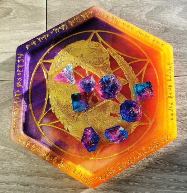 dragon dice tray