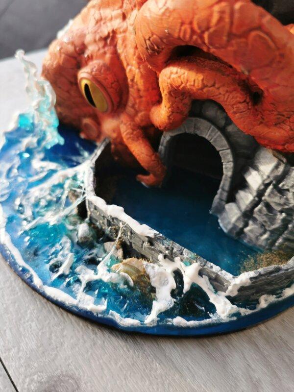 kraken dice tower